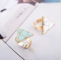 бирюзовый клип оптовых-2PCS/Lot Gold Turquoise Triangle Dreadlock Dread Hair Braid Clip  Cuff Decor Ring
