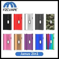 ingrosso e sigarette mods vv vw-Autentica batteria Janus Airis 650mAh 2in1 VV Batteria per cartuccia olio spessa 510 e supporto compatibile Airistech 100% originale