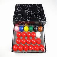 ingrosso accessori per giochi da tavolo-Gioco per adulti Biliardo Snooker Billiard Ball Altro Giochi da tavolo Accessori Resistenza alla caduta Resina Vendite dirette della fabbrica 75lx C1