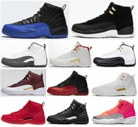 Wholesale game master resale online - New s OVO White Dark Grey Game Royal Reverse Taxi Basketball Shoes Men The Master Taxi Flu Game FIBA Sneakers With Box