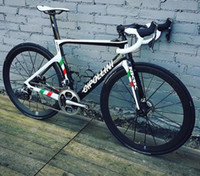 Wholesale cipollini bikes resale online - Cipollini NK1K Disc Carbon Road Complete bike with Original R7020 R8020 groupset DISC center lock hub wheelset