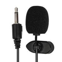 beste drahtmikrofone großhandel-Bestseller Auto verdrahtet 3,5 mm Stereo Jack Mini Auto Mikrofon externes Mikrofon PC DVD GPS Player Radio Audio