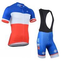 Wholesale fdj team clothing online - Fdj Team Cycling Short Sleeves Jersey Bib Shorts Sets Summer Men S Ropa Ciclismo Bicycle Clothing Kits U40921