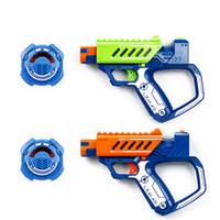 billetera de marfil al por mayor-Silverlit 15M módulo de refuerzo pistola láser Pistola de francotirador ensamblaje juguetes BATALLA OPS Gun Boy Infrarrojo Juguete eléctrico para niños regalos de niños
