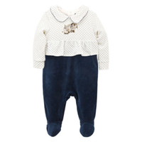 976c12ce5 3Pcs lot Baby Girls Boy Romper Long Sleeve Footies Newborn 1th Birthday  Rabbit Onesie Cotton Infant Jumpsuit Toddler Costume