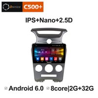 "video de espionaje de las levas al por mayor-9 ""2.5D Nano Pantalla IPS Android Octa Core / 4G LTE Car Media Player con GPS RDS Radio / Bluetooth para Kia Carens 2007-2011 MT # 5886"