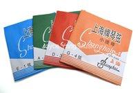 cuerda de violín al por mayor-Shanghai Pai para violín 1 / 8-4 / 4 para violín D A D G 4 cuerdas 1 al 4 de envío