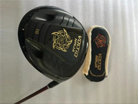 Wholesale golf clubs katana for sale - Group buy Katana Voltio Ninja Driver Black Katana Voltio Golf Driver Katana Golf Clubs Degrees R S SR Graphite Shaft With Head Cover