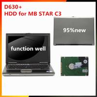 xentry c3 großhandel-Neueste MB STAR C3-Software HDD V2015.07 Xentry / DAS mit d630-Laptop gut installiert für MB Star C3 SD-Connector mehrere Sprachen