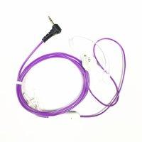 radio púrpura al por mayor-Auriculares de moda de cristal violeta para Motorola T8550 T9000 T9500. T9500R T9500XLR T9550 T9550XLR. Radios T9580XLR