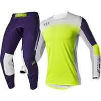 Wholesale kit outfit resale online - Delicate Motocross MX Off Road Bike FlexAir Honr LE A1 Gear Set Mx Outfits Motorcycle Suit Men s Kit