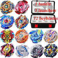 Wholesale beyblades spinning resale online - 52 Designs in1 Suitcase Beyblade Clash Metal D Beyblades Set With Suitcase Beyblade Burst Spinning Tops Boys Kids Toys Beyblade Burst