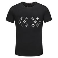 havalı rahat gömlek tasarımları toptan satış-Adam Için Vintage Moda Erkek T Shirt Pamuk Yeni Tasarım Yaz Serin Çiçek Baskılı T Shirt Erkek Pamuk Rahat Erkekler T gömlek