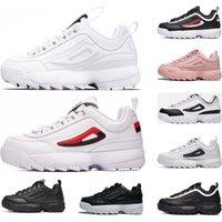 sapatos de corrida de laranja venda por atacado-fila shoes erkekler için 55 87 Clássico Triplo Branco preto vermelho das mulheres dos homens Huaraches Sapatos Huaraches esportes Sneaker Running Shoes tamanho eur 36-45