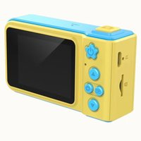 cartão de memória lcd venda por atacado-Câmera HD de crianças de 2,0 polegadas LCD suporta cartão de memória Modo de foto, modo de vídeo, modo de adesivo de foto Várias funções de filtragem