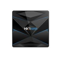 Wholesale android tv 4k 3d resale online - Hk1 Super Gb Gb Optional Android Smart Tv Box Rk3318 K D Utral Hd Dual Wifi Play Store Bt4 Set Top Box Eu Plug