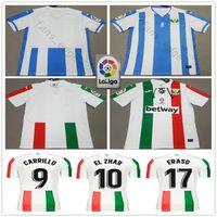 2279040df5b 2018 2019 Leganes Soccer Jerseys Away 90th Anniversary GABRIEL GUERRERO  SZYMANOWSKI CARRILLO EL ZHAR NESYRI ERASO Custom Home Football Shirt