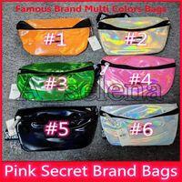marca make up sacos venda por atacado-2019 Secret Pink Marca compõem Higiene Pessoal bolsa de maquiagem sacos de impressão primavera Organizador para as mulheres que lavam grande capacidade multifuncional