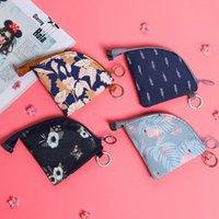 mini fermuar para çantaları toptan satış-Kadınlar Sevimli Küçük Fermuar Sikke çanta Kızlar Para Çanta Değişim Kılıfı Kadın Sikke Anahtar Tutucu Moda Çocuklar Çanta Mini Cüzdan