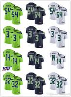 Wholesale football jerseys seattle resale online - Men Women Youth Seattle Seahawks Russell Wilson Bobby Wagner D K Metcalf Tyler Lockett Navy Custom Football Jerseys