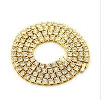 reloj de aleación de diamantes al por mayor-Venta caliente, moda europea y americana, con incrustaciones de diamante, hip-hop para hombres, un solo taladro, botón de reloj, accesorios de aleación, collar, joyería