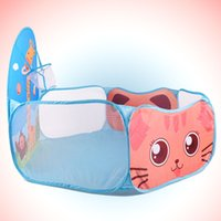 Wholesale baby ball tent for sale - Indoor Tent Ocean Ball Game Playing Folding Pit Pool For Kids Baby Children Toy