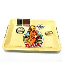 mini-tabakschleifer großhandel-18 * 12,5 cm Mini Roll RAW Tablett Tabak Speicherplatte Aufnahme Discs für Rauch Roll Herb Tobacco Grinder Wasserpfeife Glas Bong