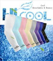 Wholesale coolest bike for sale - Group buy Cooling Arm Sleeves Cover UV Sun Protection Golf Bike Outdoor Sports Riding Cycling UV Protection Sleeves Arm Warmer MMA1918