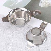 ingrosso filtro fine-Filtro da imbuto a foglia di tè Kungfu cinese a maglia fine in acciaio inossidabile da 1 pezzo