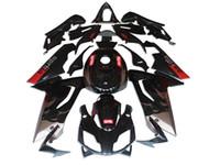aprilia rs 125 kits de carenado completo al por mayor-Nuevo cuerpo para Aprilia RS4 RSV125 RS125 06-11 RS125R RS-125 RSV 125 RS 125 2006 2007 2008 2010 2010 2011 2011 Full Fairing Kit silver black