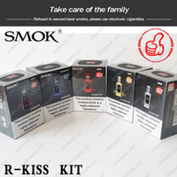 Wholesale 100 Original Smok R Kiss W Kit with TFV Mini V2 Tank S1 Single Mesh Coil Powered by Dual Battery Mod PK Pico Swag E Cigarettes Kits