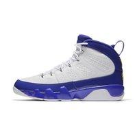 basketbol ayakkabıları yeşil renkte toptan satış-Erkek Retro 9s basketbol ayakkabıları j9 Siyah Beyaz LA Paspas Melo Buğday Antrasit Yeşil Glow Lakers kutusuyla Jumpman 9 IX spor ayakkabıları botlar Bred