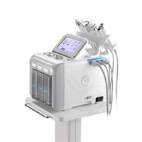 Wholesale home microdermabrasion machines resale online - Hydro Microdermabrasion Face Peel Clean Skin Care Facial Cleaning Hydra Water Oxygen Jet Peel Machine For Home Use