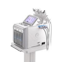 hydra facial machines d'occasion achat en gros de-Hydro microdermabrasion visage Peel Clean Soins de la peau Nettoyage du visage Hydra Eau oxygène Jet Peel machine pour utilisation à domicile