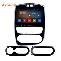 android telefone analógico tv venda por atacado-Android 9.0 10.1 Polegadas Car Multimedia Player para 2012-2018 Renault Clio Digital / Analógico (AT) com WIFI GPS Navegação apoio 3G / 4G carro dvd