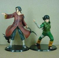 itachi oyuncakları toptan satış-Naruto Kaya Lee Uchiha Itachi 2 adet / takım Brinquedos Anime Pvc Action Figure Koleksiyon Model Oyuncak Kt3407