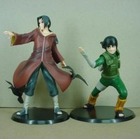 Wholesale itachi toys for sale - Group buy Naruto Rock Lee Uchiha Itachi Set Brinquedos Anime Pvc Action Figure Collectible Model Toy Kt3407