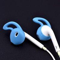 ingrosso earbuds earplug-Auricolari perdere EarTips silicio trasduttore auricolare Earplug Earplugs CASE per earpods IPHONE 5 6 7 8 500pair / LOT