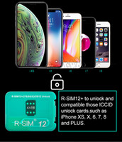 Wholesale iphone plus sim free resale online - R SIM12 RSIM12 R SIM12 RSIM unlock for iPhone Xs MAX XR XS X PLUS IOS IOS iccid unlocking sim