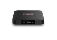 hdmi dörtlü çekirdekli tv çubuğu toptan satış-TV kutusu T95 S1 Amlogic S905W 1GB RAM 8GB ROM robot televizyon os akıllı televizyon kutusu T95S1