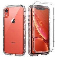 Wholesale pc max resale online - For Iphone Xr Case Clear Full Body Protection Soft TPU Hard PC Protective Case For Iphone Xs Max Samsung Galaxy Note Pro