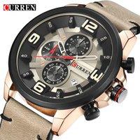 Wholesale surface wristwatches resale online - Man Six Needle Motion Wrist Watch Male Surface Trend Outdoor men s Sport mechanical casual quartz automatic watches wristwatches master