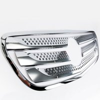 benz vito toptan satış-Mercedes Benz Vito 2017 7 Adet / takım ABS Krom Araba Ön Izgara Izgara Dekoratif Kapak Trim Araba Styling Oto Aksesuarları