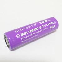 Wholesale 100 C Power battery IMR flat head mAh A V Rechargable Lithium Battery Free shippin
