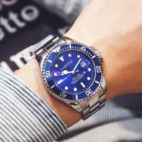 смотреть мужчин оптовых-Лучшие новые мужские автоматические механические часы водонепроницаемый из нержавеющей стали известный бренд дизайнер роскошь мода бизнес мужчины Спорт наручные часы