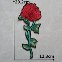Wholesale clothing patches for sale resale online - hot sell cartoon flower patches hot melt adhesive applique embroidery patches DIY clothing accessory patch for sale C5331