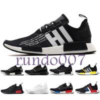 yeni dalga üstü toptan satış-adidas Yeni Tasarımcı moda lüks ayakkabı erkekler nmd r1 kadınlar Dalga Koşucu koşu mens ultra Eğitim En kaliteli chaussures Sneakers