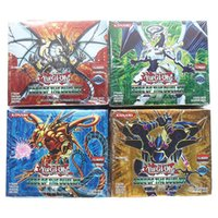 Wholesale yu gi oh cards for sale - Group buy Yugioh Cards set with box yu gi oh anime Game Collection Cards toys for children boys Brinquedo T191021