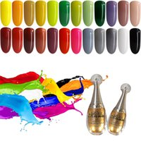 kits de esmalte de uv gel venda por atacado-6 pc / set Unhas de Gel Polonês Conjunto Semi Verniz Permanente Soak Off Gel UV Unha Polonês Kit Gel UV Para O Prego Gellack Manicure Set