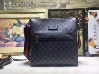 maletines de negocios para hombres al por mayor-100% cuero genuino 2019 Nuevo maletín para hombre Casual Business Messenger Bag Vintage Men's Cross body Bag Bolsas Men Bag